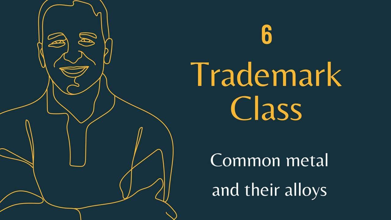 Trademark Class 6