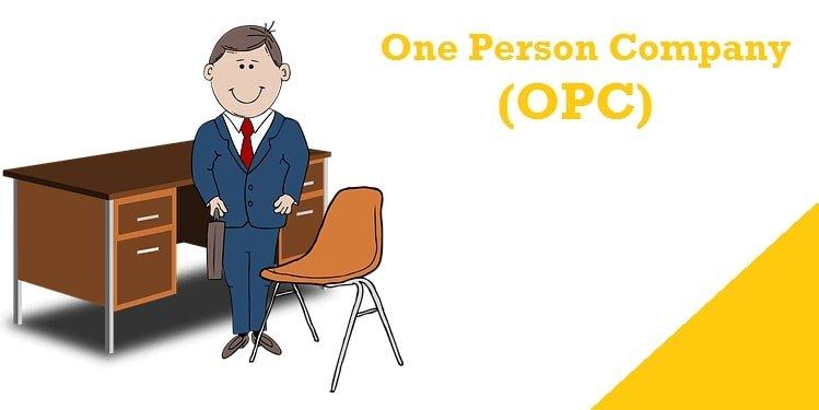 one person company opc - One Person Company