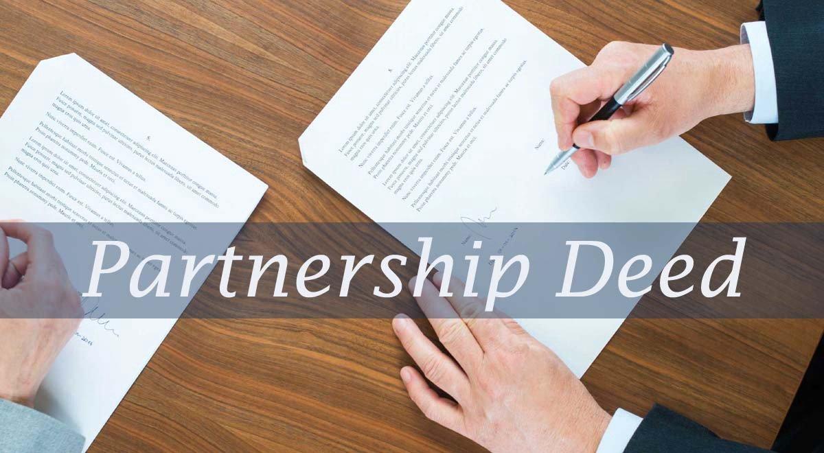 - Change Partnership Deed