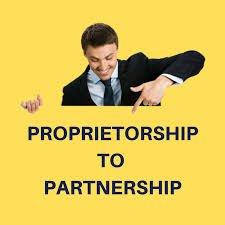 images - Proprietorship to Partnership