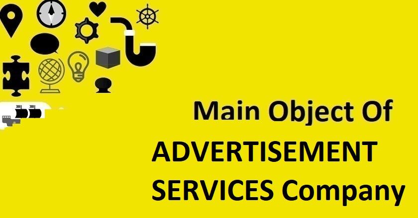 Main Object Of ADVISORY SERVICES Company