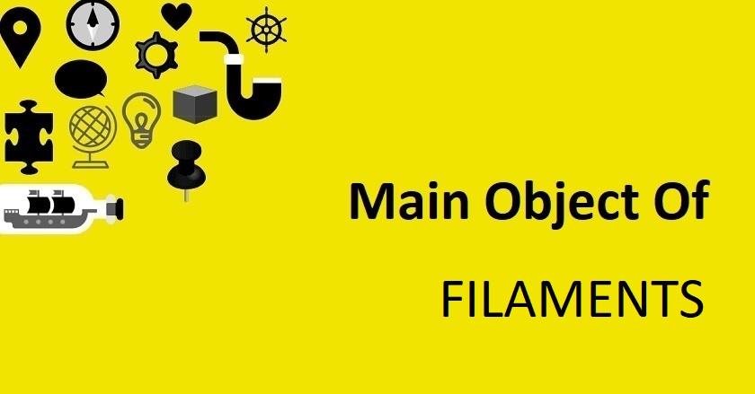 Main Object Of FILAMENTS Company