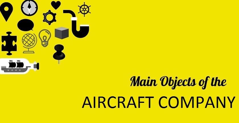 MAIN OBJECT OF AIRCRAFT COMPANY - MAIN OBJECT OF AIRCRAFT COMPANY