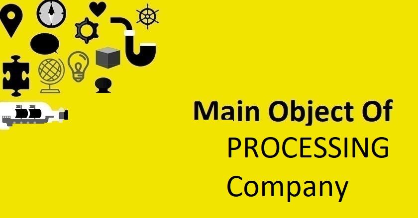 Main Object Of PROCESSING Company