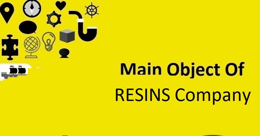 Main Object Of RESINS Company