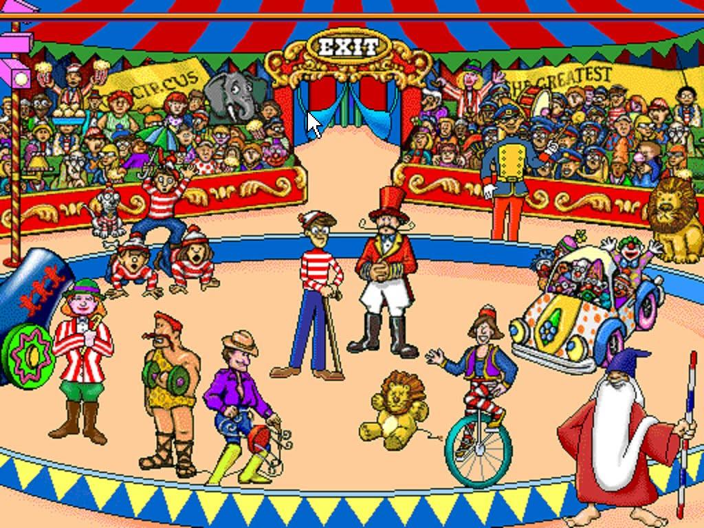 at the circus 2 - Main Object Of CIRCUS